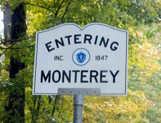 Entering Monterey Sign